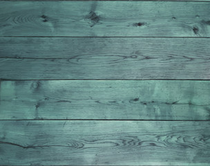 Background with blue oak boards.