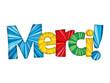 """MERCI"" (carte message remerciements gratitude félicitations)"