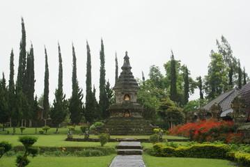 temple in crepuscule