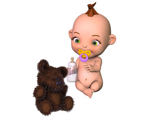 bébé doudou