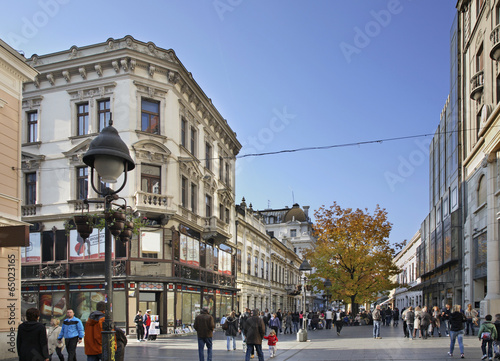 Papiers peints Europe de l Est Knez Mihailova street in Belgrade. Serbia