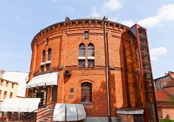 Planetarium in Torun town, Poland