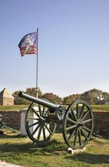 Cannon in Kalemegdan. Serbia