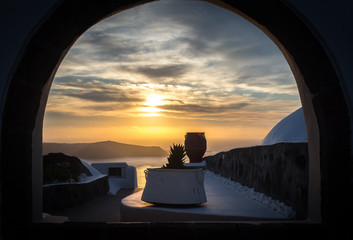 Sunset from Imerovigli, Santorini