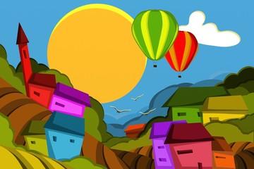 mungolfiere su villaggio