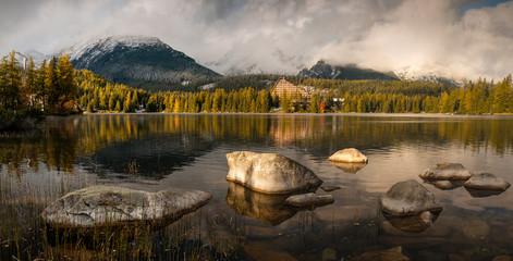 fototapeta Tatrzańskie jezioro