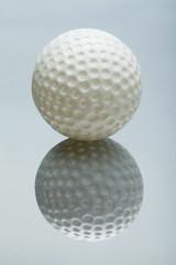 white Mini Golf ball