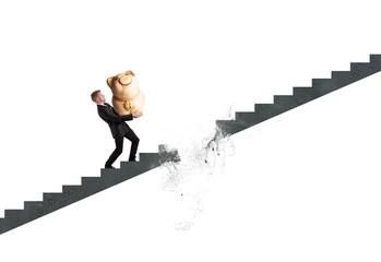 Crisis and failure concept