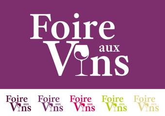 Logo - Foire aux vins