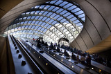 London tube, Canary Wharf station
