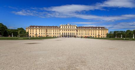 Schloss Schönbrunn in Wien Österreich im Sommer