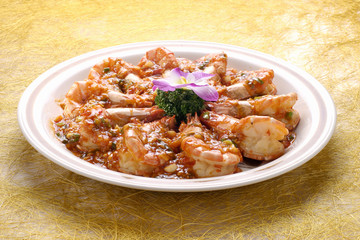 The image of delicious dine in Asia