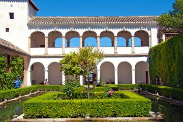 Park Alhambra, Granada, Spain