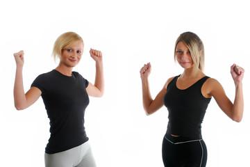 Aerobic exercising