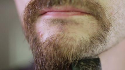 Shaving beards CU