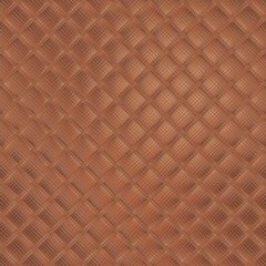 Soft bronze or cooper mosaic