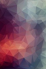 Varios Abstract polygonal background.