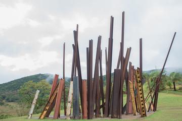 Modern art in a small city in Brazil