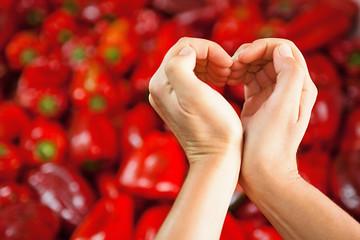 Peperoni al mercato - vita sana