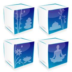 4 cube yoga and zen