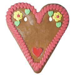 Gingerbread heart