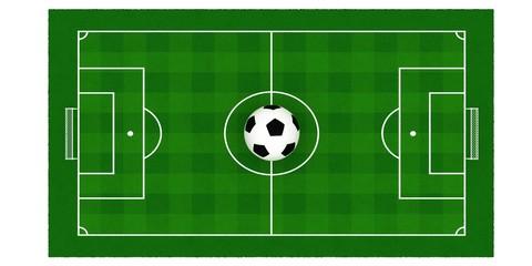 soccer field or football field