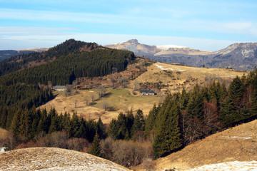 Paysage Auvergne