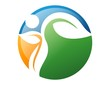 logo global symbol icon nature health active people leaf natural