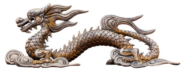 Chinese dragon statue