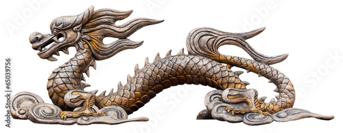 Chinese dragon statue - 65039756