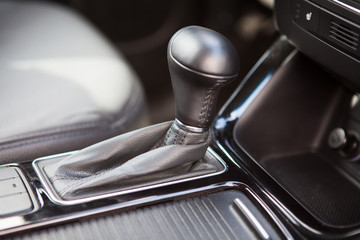 Car gearshift lever