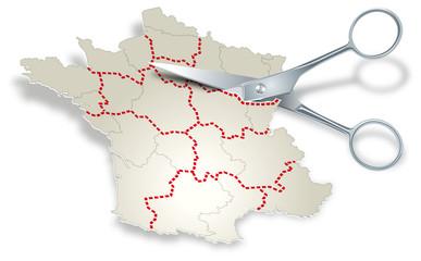 France - Redécoupage régional