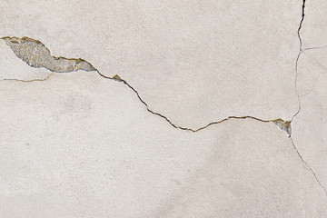 cracked stucco
