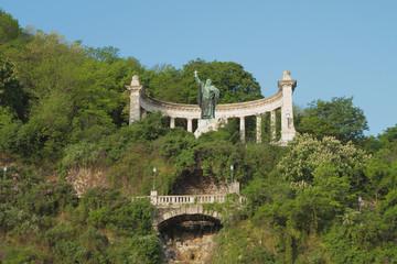 Monument to Saint Gellert. Budapest, Hungary