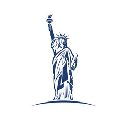 Statue of Liberty image logo