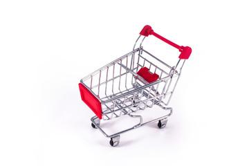 Тележка из супермаркета