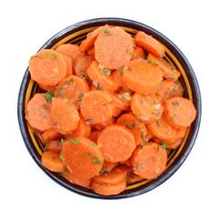 Carottes au cumin, coriandre et paprika