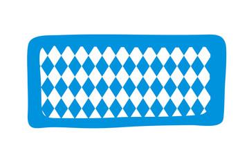 Rechteck - Bayrisches Muster - Oktoberfest