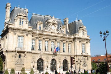 Neuilly-sur-Seine (92) city hall, France
