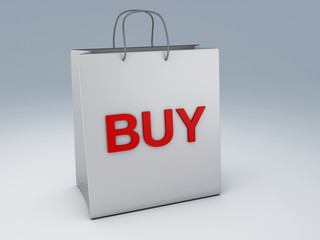 shopping bag 3d