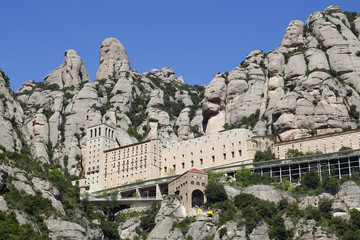 The Montserrat abbey