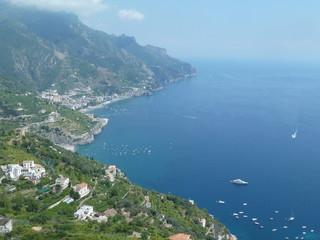 Vista su costiera da Ravello