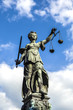 Justitia, a monument in Frankfurt, Germany - 65050392