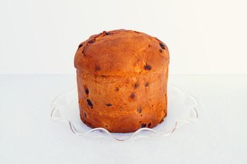 Christmas italian fruit-cake panettone