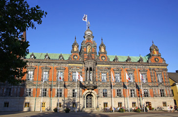 Town Hall of Malmo City, Sweden