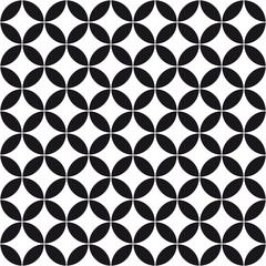 Pattern circle flower background