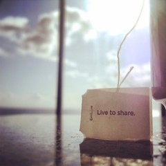 live to share
