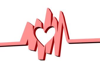 kırmızı kalp işareti
