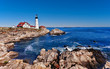 Portland Head Lighthouse in Cape Elizabeth, Maine - 65055710