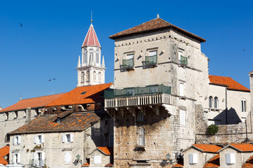 Old Town of Trogir, Croatia.  UNESCO World Heritage Site.